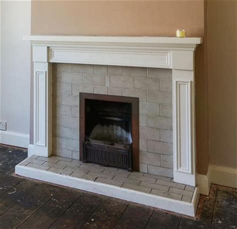 how to retile a fireplace fireplaces