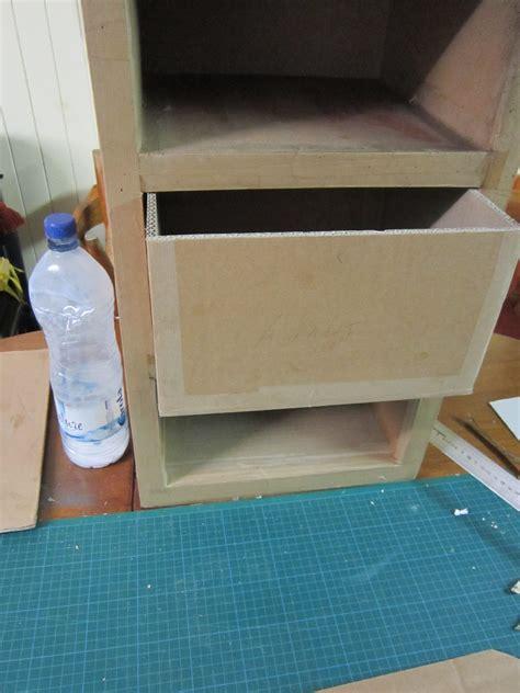comment fabriquer  tiroir en carton tuto cartonrecup