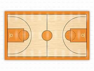 31 Basketball Court Label