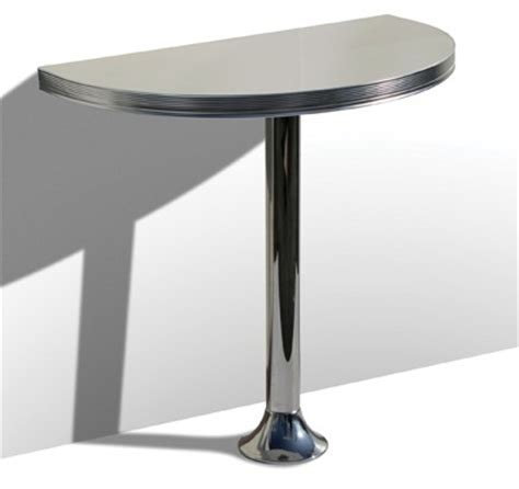 American 50s Style Bar Tables   WO12 Pedestal Bar Table