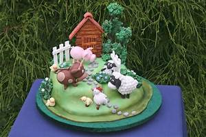 Farm Cake Tutorial by Yeners Way - Cake Art Tutorials  Cake