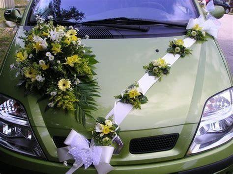 decoration voiture invite mariage bb d 233 coration des voitures de mariage