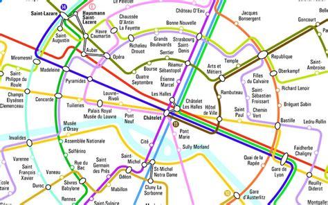 La Carte De Metro Rer by Plan De Carte De M 195 169 Tro