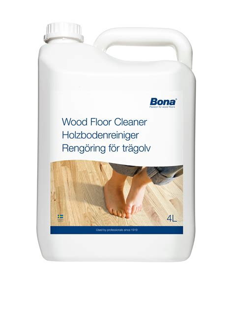 Bona Wood Floor Cleaner 4l by We Stock Cleaning And Maintenance Products For And