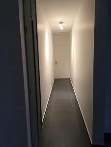 Deco Couloir Sol Gris