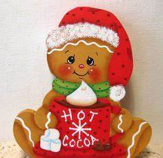 hand painted 1000 in and gingerbread on pinterest With gingerbread letter ornaments