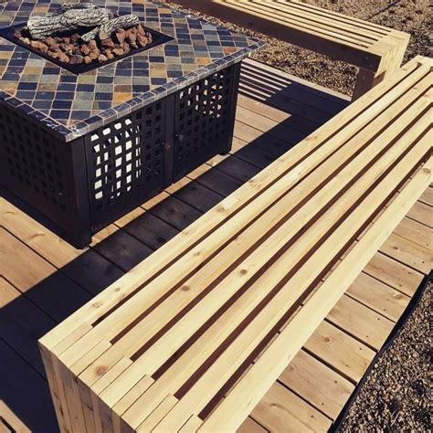 ana white green roof patio benches diy projects