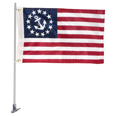 Boat Flags Pole by Boat Flag Pole Set