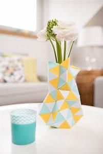 Deko Für Vasen : diy vase aus filz meditation leelah loves ~ Indierocktalk.com Haus und Dekorationen
