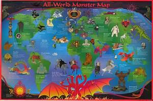 Monster Map | My blog