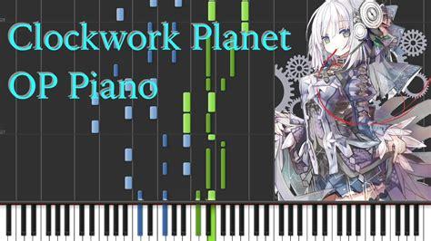 clockwork planet op pianosynthesia arrangement spring