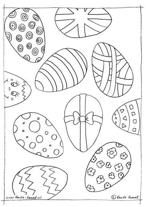 Kleurplaten Paaseieren by 178 Best Images About Kleurplaten Pasen On Egg