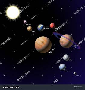 Royalty-free Solar System Planets - Vector… #318786650 ...