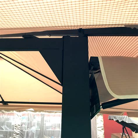 replacement canopy  bc awning gazebo riplock  garden winds