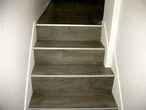 escalier en parquet nez de marche pour parquet et sol With parquet pour escalier