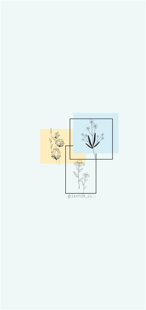 wallpaper iphone minimalist iphonex softpastel