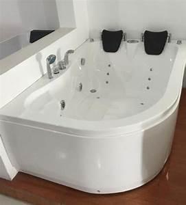 Baignoire Pour 2 : varadero baignoire baln o pour 2 personnes 170 x 115 cm ~ Edinachiropracticcenter.com Idées de Décoration