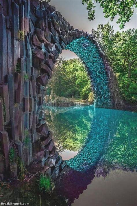 rakotzbrucke devils bridge gablenz germany breakbrunch