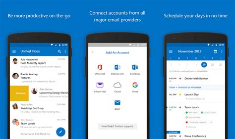email apps  android   phandroid