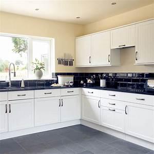 white kitchen designs pics afreakatheart With design idea of classic black and white kitchen
