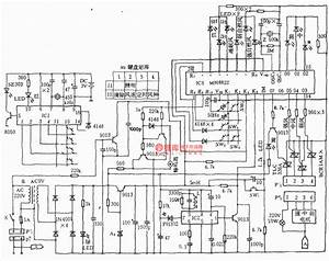 Electric Fan Infrared Remote Control Circuit  Greatwall