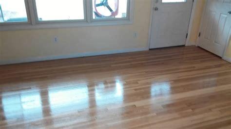 Hardwood Floor Sanding St Coat  Polyurethane Youtube
