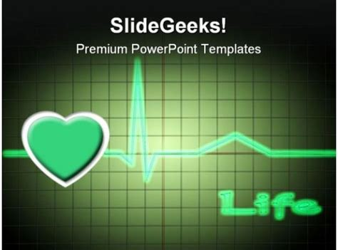 ecg medical powerpoint templates  powerpoint