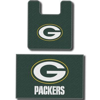 green bay packers bathroom rug set 1000 images about green bay packers on