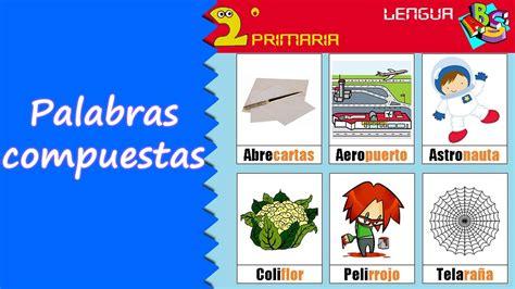 Lengua Castellana 2º Primaria Tema 6 Las palabras