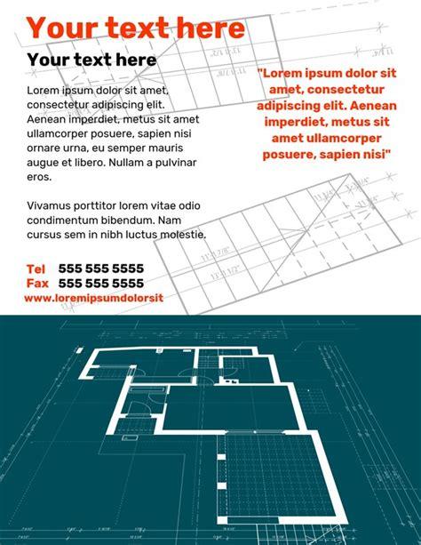 poster  flyer  master plan creative center