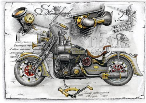Photo Retro Motorcycles