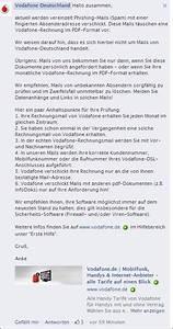 Www Mein Vodafone Rechnung De : trojaner warnung vodafone online rechnung mimikama ~ Themetempest.com Abrechnung