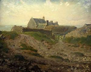 Priory At Vauville Normandy Jean Francois Millet