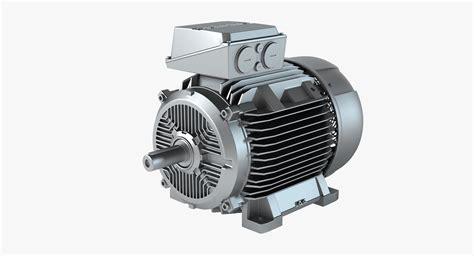 Siemens Electric Motors by Siemens Electric Motor 3d Model