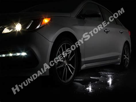 hyundai sonata puddle light kit