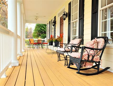 Cheap Porch Furniture by Porch Cost Landscaping Network
