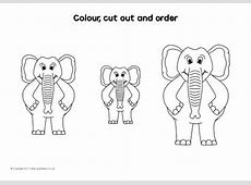 Cut and Stick Size Ordering Activity