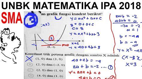 A240 b.180 c.60 d.120 e.840. pembahasan soal UNBK matematika ipa SMA 2018 , no 3 ...