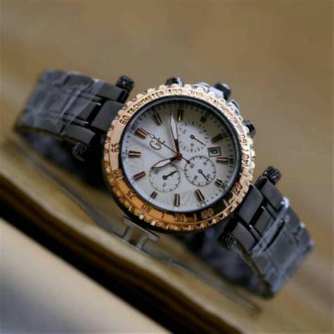 jual jam tangan cewek wanita gc rantai terbaru chrono