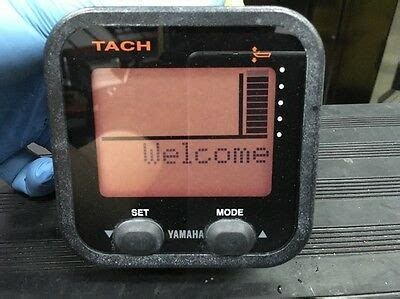 yamaha 6y8 8350t 20 00 tachometer command link outboard tach meter marine cad 320 36