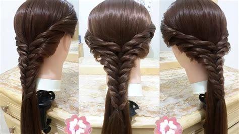 peinado de forzen faciles bonitos  rapidos  nina  cabello largo nuevo de peinados