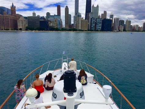 lake michigan chicago private yacht charter rental