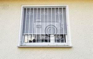Bevorzugt Gitter Vor Fenster. gitter vor dem fenster leinwandbilder bilder PY46