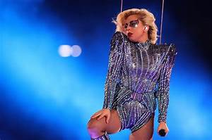 Lady Gaga39s Super Bowl Roof Jump Drones Were Pre