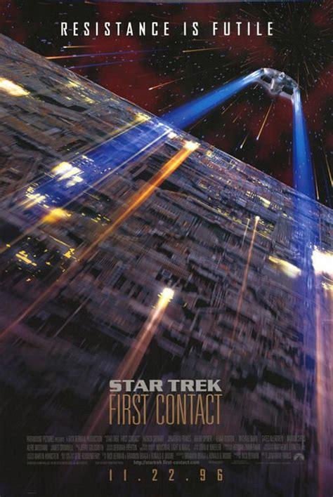 star trek  contact  poster    imp awards