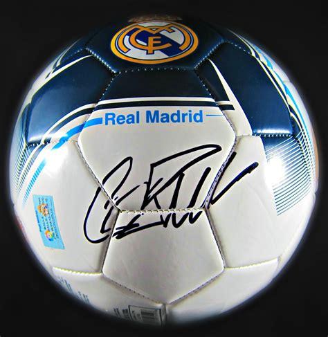 Cristiano Ronaldo Autographed Soccer Ball