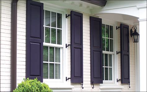 Exterior Shutters Choosing The Right Shutters For Your Home