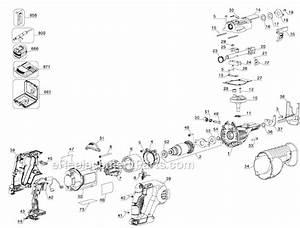 Dewalt Dcs380b Parts List And Diagram