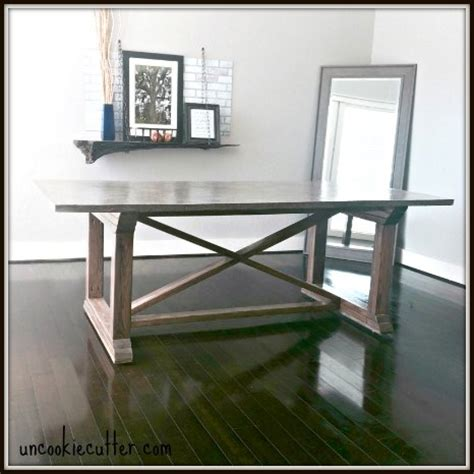 hometalk concrete top dining table