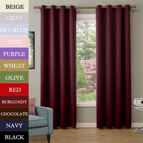 Burgundy Blackout Curtains Uk by 25 Best Ideas About Burgundy Curtains On